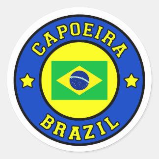 Sticker Rond Capoeira