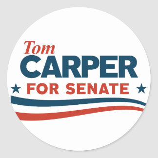 Sticker Rond Carper de Tom
