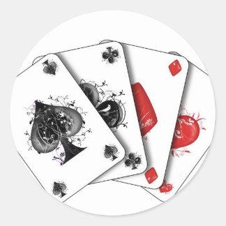 Sticker Rond carte