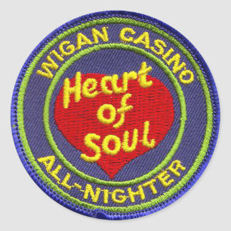 Sticker Rond Casino de Wigan Tout-Nighter