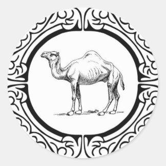 Sticker Rond cercle du chameau