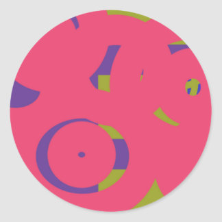 Sticker Rond Cercles