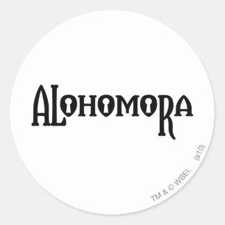 Sticker Rond Charme | Alohomora de Harry Potter