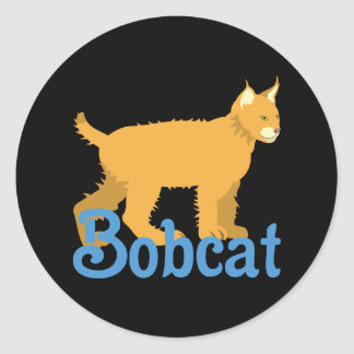 Sticker Rond Chat sauvage de chat sauvage