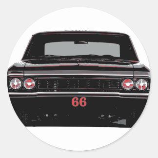 Sticker Rond Chevelle 1966