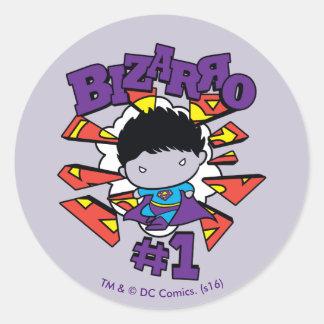 Sticker Rond Chibi Bizarro #1