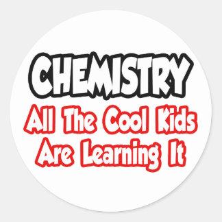 Sticker Rond Chimie… tous les enfants de cool