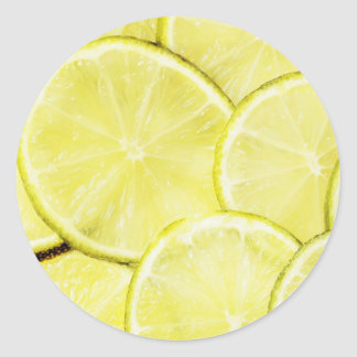 Sticker Rond Citron 2