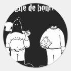 Sticker Rond Collègue de Bourreau (Francois Ville & Gdb Gdblog)