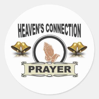 Sticker Rond Connexion de cieux de Bells