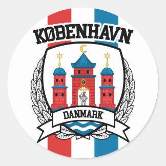 Sticker Rond Copenhague