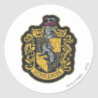Sticker Rond Correction de crête de Harry Potter | Hufflepuff