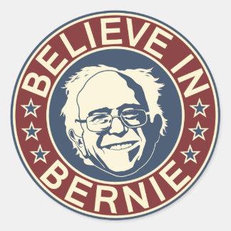 Croyez à l'autocollant de Bernie (V1)