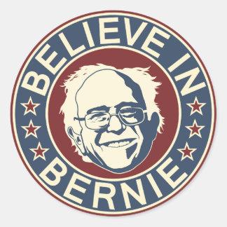 Croyez à l'autocollant de Bernie (V2)