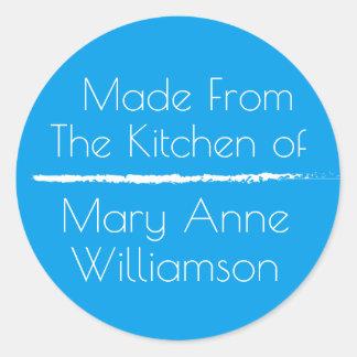 Sticker Rond De la cuisine de