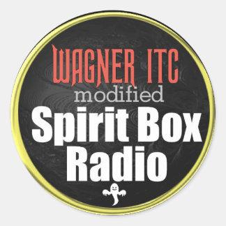 Sticker Rond Décalque d'ITC de WAGNER