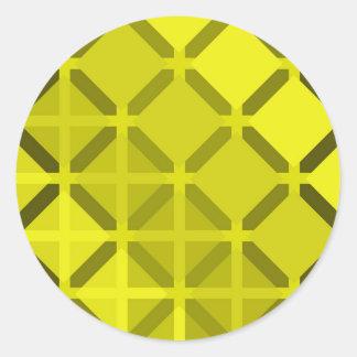 Sticker Rond diamant 03
