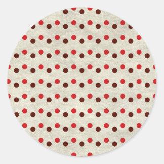 Sticker Rond dots01
