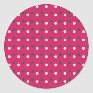 Sticker Rond dots02
