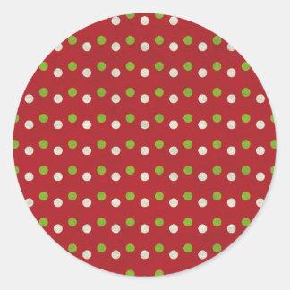 Sticker Rond dots03