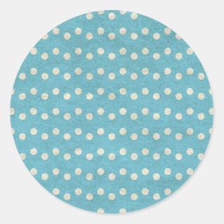Sticker Rond dots09