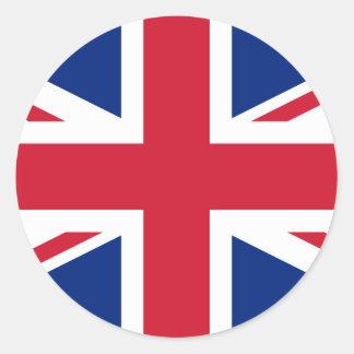 Sticker Rond Drapeau du Royaume-Uni