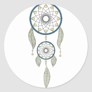 Sticker Rond Dreamcatcher