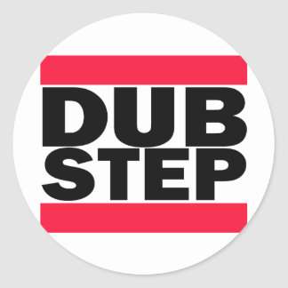 Sticker Rond Dubstep