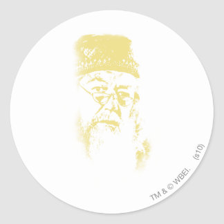 Sticker Rond Dumbledore