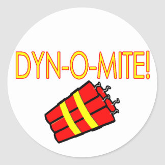 Sticker Rond Dynomite