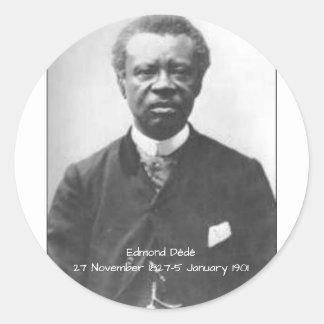 Sticker Rond Edmond Dédé