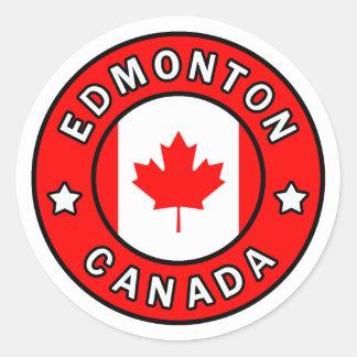 Sticker Rond Edmonton Canada