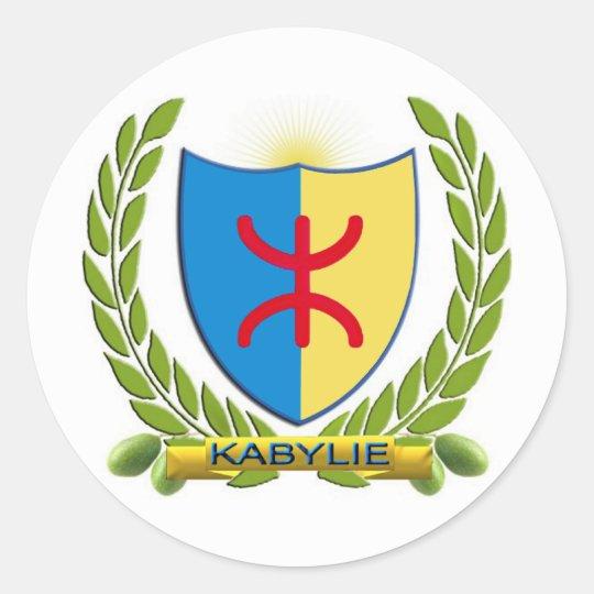 Sticker Rond embleme kabylie 2010