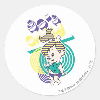Sticker Rond Enfant des années 80 de PEBBLES™