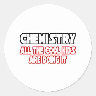 Sticker Rond Enfants frais de chimie…