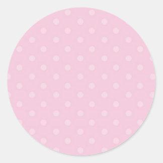 Sticker Rond Épices chaudes - ombre, Flowrals, points, lustre