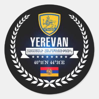 Sticker Rond Erevan