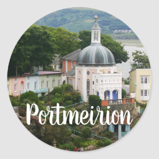 Sticker Rond Estuaire Gwynedd, Pays de Galles du nord de