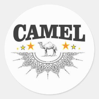 Sticker Rond étoiles du chameau
