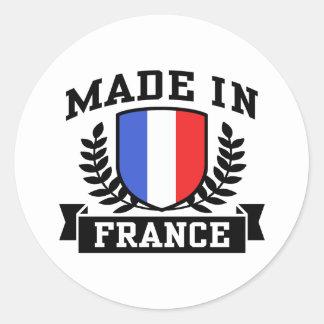 Sticker Rond Fabriqué en France