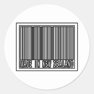 Sticker Rond Fabriqué en Nouvelle Zélande