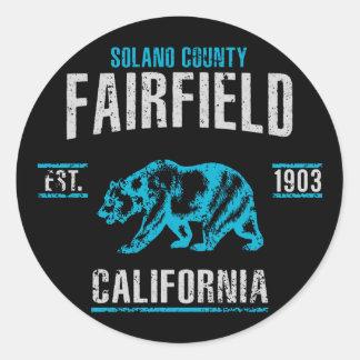 Sticker Rond Fairfield
