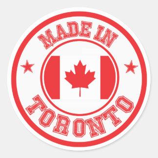 Sticker Rond Fait à Toronto