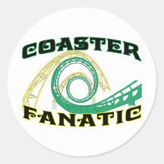 Sticker Rond Fanatique de dessous de verre
