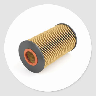 Sticker Rond Filtre à huile des véhicules à moteur