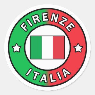 Sticker Rond Firenze Italie