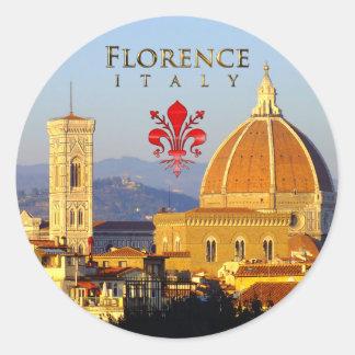 Sticker Rond Florence - Santa Maria del Fiore