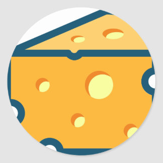 Sticker Rond Fromage suisse