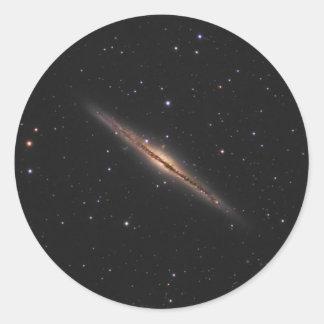 Sticker Rond Galaxie en spirale de la NASA de Caldwell 23