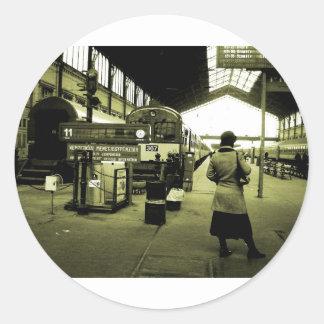 Sticker Rond gare Budapest